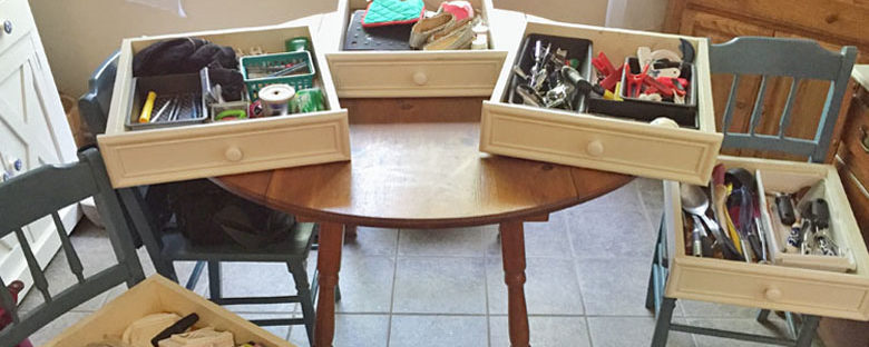 30 Projects in 30 Days | Homespun by Laura | Week 1 - Drawers and Walls