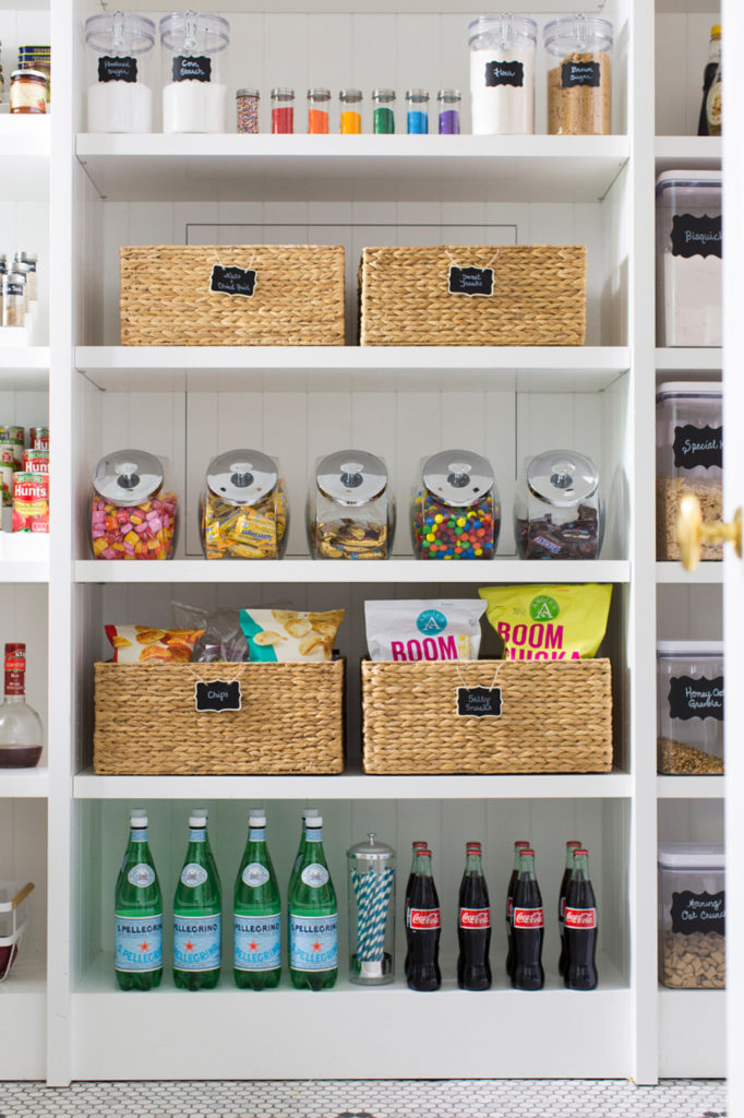 Container Store organized pantry
