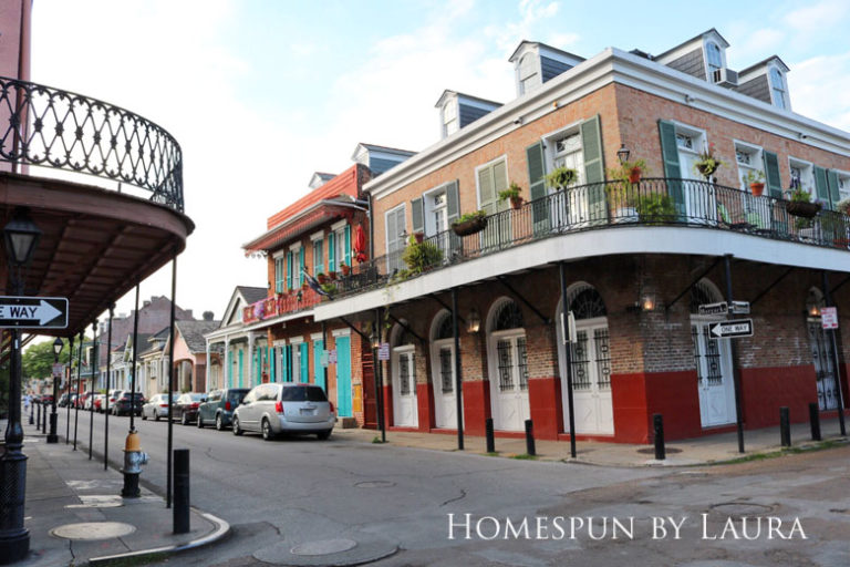 New Orleans architecture | Homespun by Laura