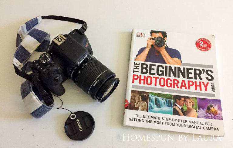 The Beginners Guide to Photography by Chris Gatcum is a great resource for first time DSLR camera owners | DIY Gift Guide for Makers and DIYers by Homespun by Laura