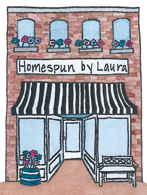 Shop Homespun by Laura on Etsy